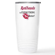 Redheads do EVERYTHING better Travel Mug