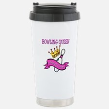BOWLING QUEEN Stainless Steel Travel Mug