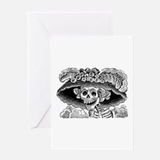 Calavera Catrina Greeting Card