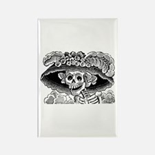 Calavera Catrina Rectangle Magnet