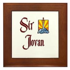 Sir Jovan Framed Tile