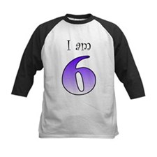 I am 6 (purple) Tee