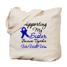 ColonCancerSister Tote Bag