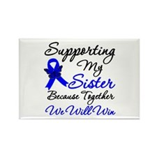 ColonCancerSister Rectangle Magnet