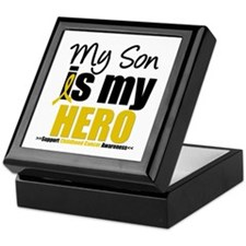 ChildhoodCancer Son Keepsake Box