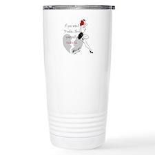 Redhead Bad Girl Travel Mug