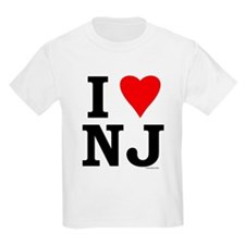 I LOVE NJ Kids T-Shirt