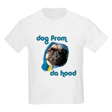 Dog from da Hood Kids T-Shirt