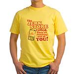Jerk Store Yellow T-Shirt