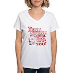 Jerk Store Women's V-Neck T-Shirt