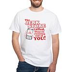 Jerk Store White T-Shirt
