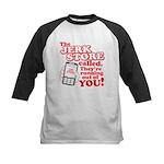 Jerk Store Kids Baseball Jersey