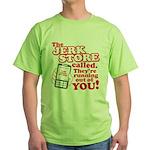 Jerk Store Green T-Shirt