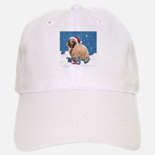 Bunny Winter Holiday Baseball Baseball Cap