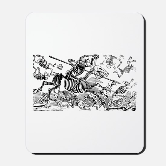 Calavera Don Quijote Mousepad