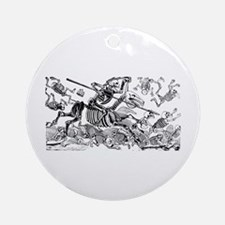 Calavera Don Quijote Ornament (Round)