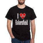 I Love Bakersfield (Front) Dark T-Shirt