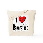I Love Bakersfield Tote Bag