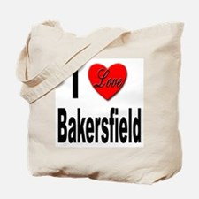 I Love Bakersfield Tote Bag