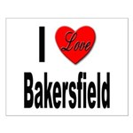 I Love Bakersfield Small Poster