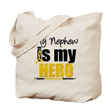 ChildhoodCancer Nephew Tote Bag