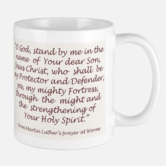 Luther's Prayer at Worms Mug