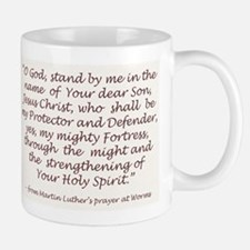 Luther's Prayer at Worms Small Small Mug