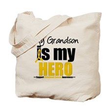 ChildhoodCancer Grandson Tote Bag