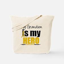 ChildhoodCancer Grandson Tote Bag