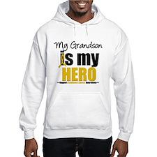 ChildhoodCancer Grandson Hoodie