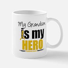 ChildhoodCancer Grandson Mug