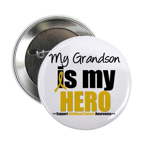 "ChildhoodCancer Grandson 2.25"" Button (10 pack)"