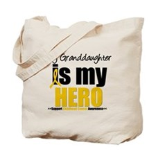 ChildhoodCancer Granddaughter Tote Bag