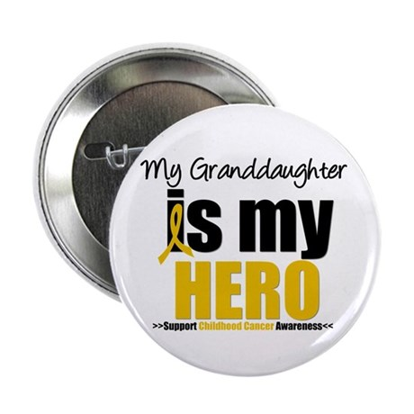 "ChildhoodCancer Granddaughter 2.25"" Button"