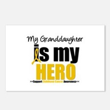 ChildhoodCancer Granddaughter Postcards (Package o