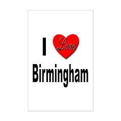 I Love Birmingham Posters