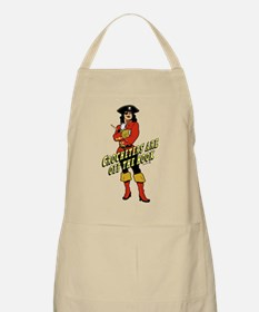 Crocheters are Off the Hook BBQ Apron