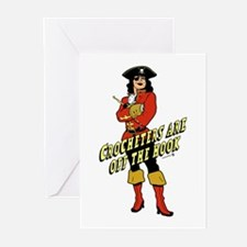 Crocheters are Off the Hook Greeting Cards (Pk of