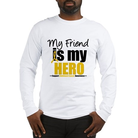 ChildhoodCancer Friend Long Sleeve T-Shirt
