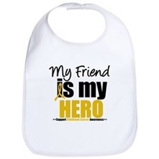 ChildhoodCancer Friend Bib