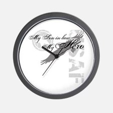 My Son-in-law My Hero USAF Wall Clock