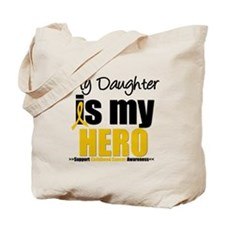 ChildhoodCancer Daughter Tote Bag