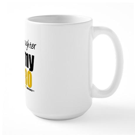 ChildhoodCancer Daughter Large Mug