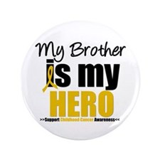 "ChildhoodCancer Brother 3.5"" Button"