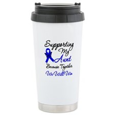 ColonCancerSupport Aunt Travel Coffee Mug