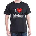 I Love Baton Rouge (Front) Dark T-Shirt