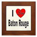 I Love Baton Rouge Framed Tile