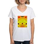 Composting Women's V-Neck T-Shirt