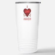 I Love Anaheim Travel Mug