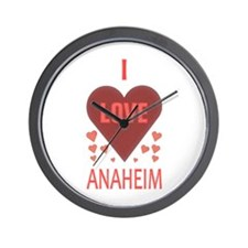 I Love Anaheim Wall Clock